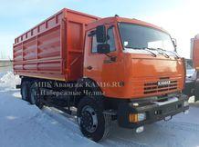 КАМАЗ 65115 зерновоз самосвал 22-27 кубов